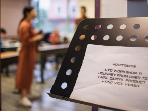 Digitized 19 Conference | UxD Workshop