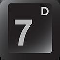 7 digits